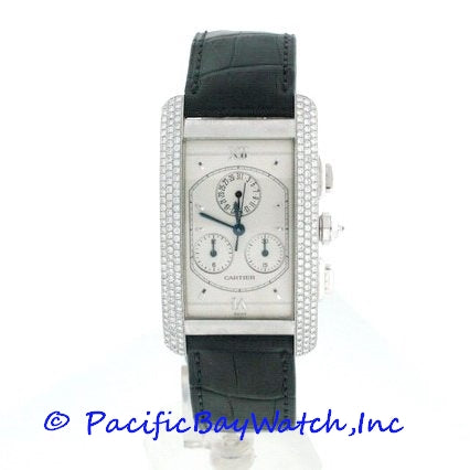 Cartier Tank Americaine Diamond Men's Pre-owned
