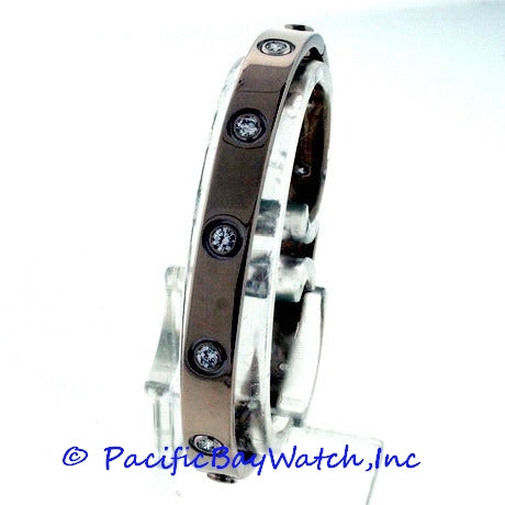 Cartier Love Bracelet Diamond 18k White Gold