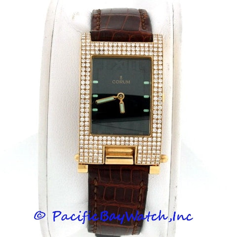 Corum Tabogan Ladies Gold Watch