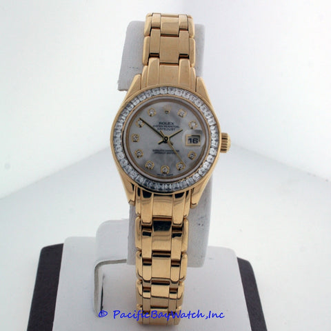 Rolex Pearlmaster Ladies 80308