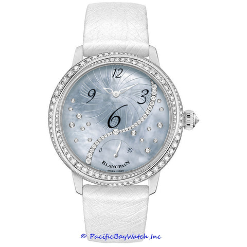Blancpain Ladies Off Center Hours Retro Seconds 3650A-3554L-58B