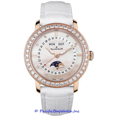 Blancpain Women Collection Moon Phase Complete Calendar 3663-2954-55B