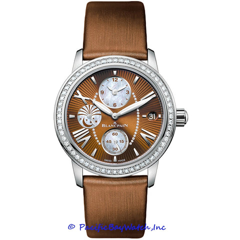 Blancpain Women Collection Dual Time Zone 3760-1946-52B