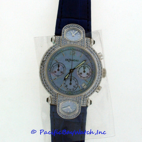 DeLaneau 3 Time Zone Chronograph GTC094