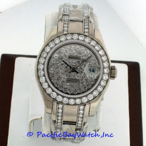 Rolex Pearlmaster Ladies 80299
