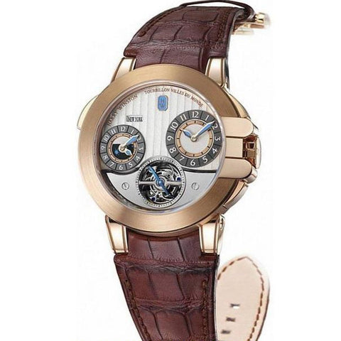 Harry Winston Project Opus Tourbillon World Time 400-MATTZ45RL-WA