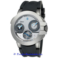 Harry Winston Project Z5 Tourbillon World Time 400-MATTZ45ZC-WA Pre-Owned