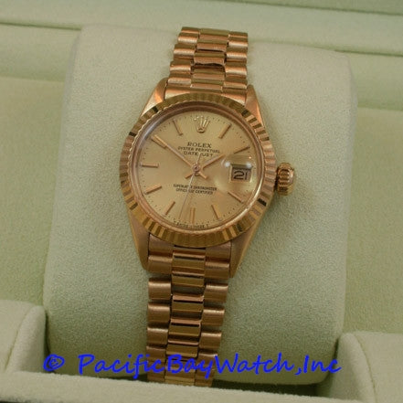Rolex Ladies President Pre-owned