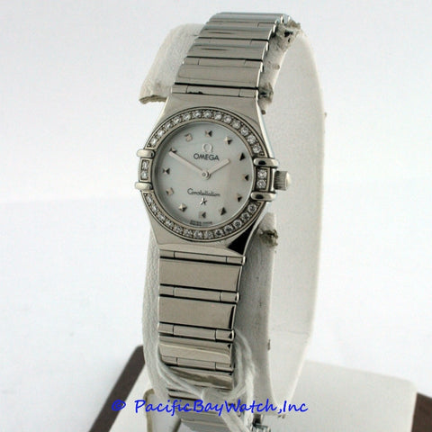Omega Constellation Mini My Choice Cindy Crawford 1561. 71 Pre-Owned