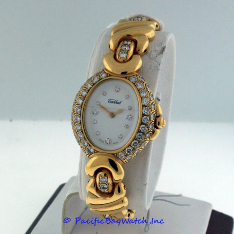 Tabbah 18 Yellow Gold Diamond Ladies Pre-owned