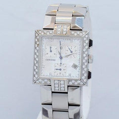 Concord La Scala Ladies Chronograph 14.H1.1371 Pre-Owned