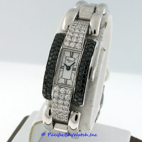 Chopard La Strada Ladies Black and White Diamonds