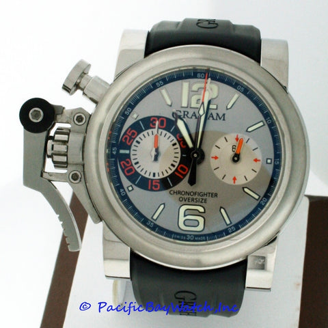 Graham Chronofighter Oversize 2OVAS.S02A.K10B Pre-owned