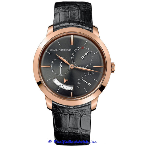 Girard Perregaux Vintage 1966 Annual Calendar Equation Of Time 49538-52-231-BK6A