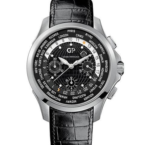 Girard-Perregaux World Timer WW.TC Chronograph 49700-11-631-BB6B