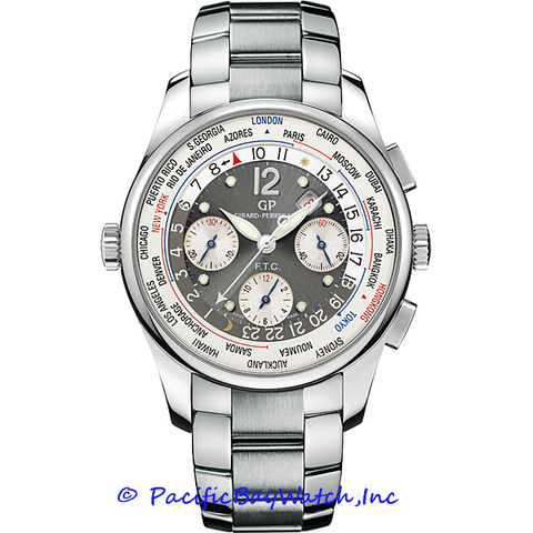 Girard-Perregaux World Timer WW.TC Financial Chronograph 49805-11-255-11A Pre-Owned