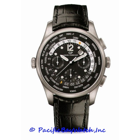 Girard Perregaux World Timer 49805-11-650-BA6A Pre-owned