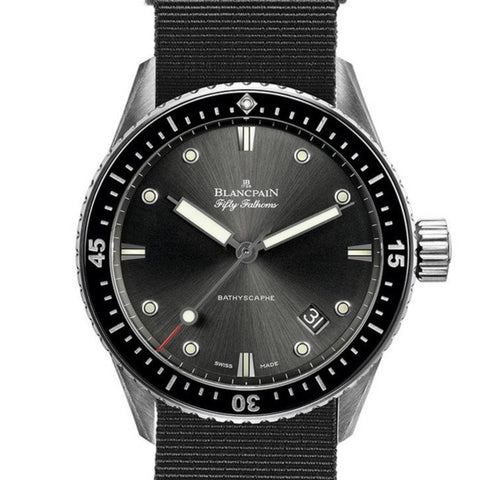 Blancpain Bathyscaphe Fifty Fathoms 5000-1110-NABA