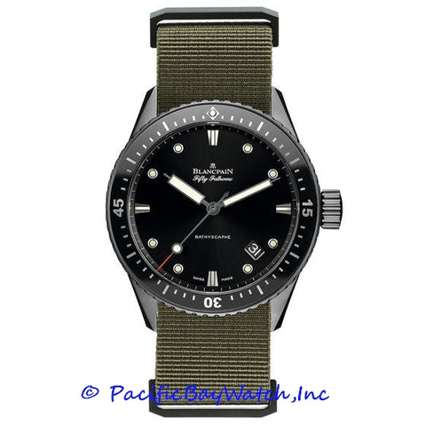 Blancpain Bathyscaphe Fifty Fathoms 5000-12C30-NAKA