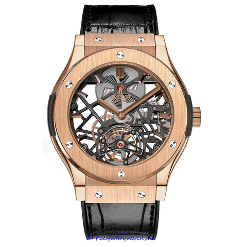 Hublot Classic Fusion Skeleton Tourbillon 505.OX.0180.LR