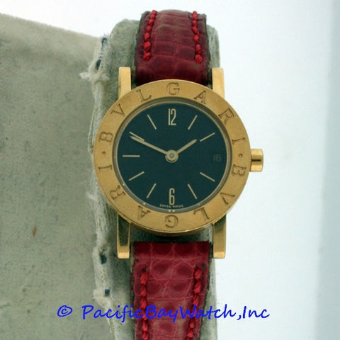 "Bvlgari ""Bvlgari-Bvlgari"" Ladies Pre-owned BB 23 GLD"