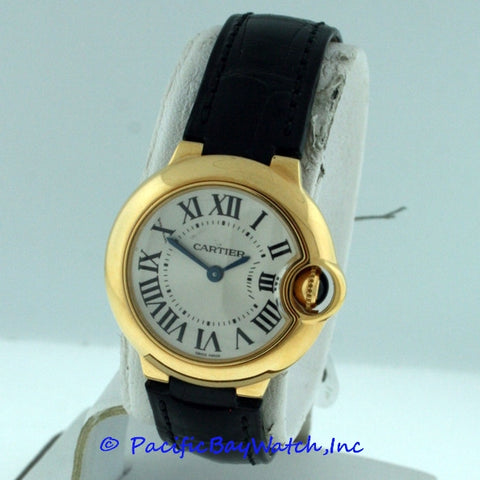 Cartier Ballon Bleu Ladies W6900156 Pre-Owned