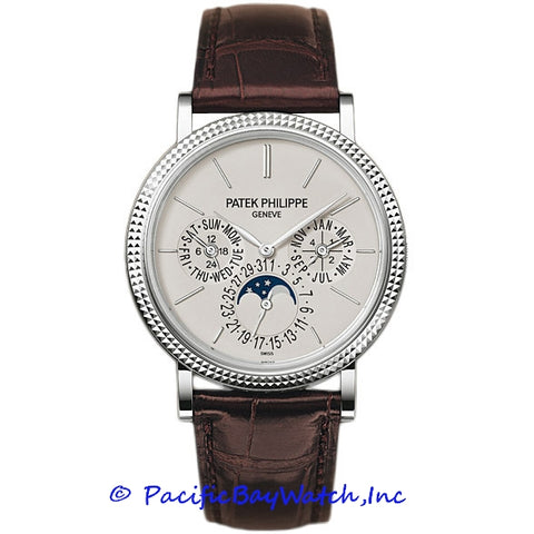 Patek Philippe 5139G silver dial