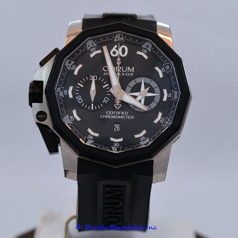 Corum Admiral's Cup Left Handed Chronograph 753.231.06/0371-AN12 Pre-owned