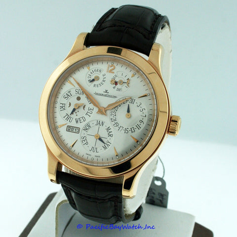Jaeger leCoultre 8 Day Perpetual 146.2.26.S Pre-Owned