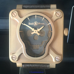Bell & Ross BR 01 Air Skull Bronze