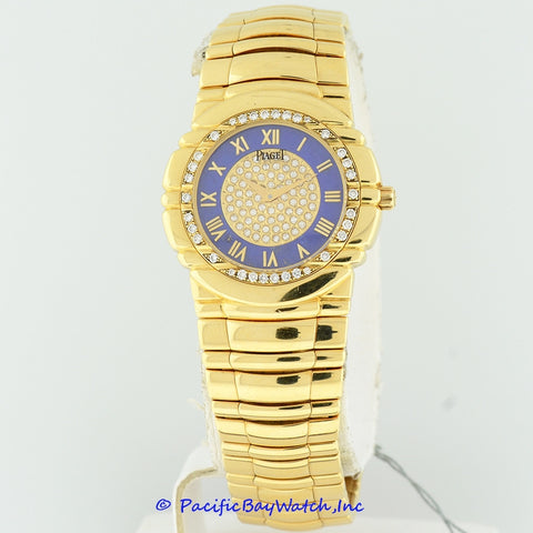 Piaget Tanagra Ladies Yellow Gold Diamond Pre-owned