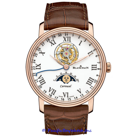 Blancpain Villeret Carrousel Tourbillon Moonphase 6622L-3631-55B