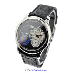 "F.P. Journe Octa UTC Platinum ""Black Label"""