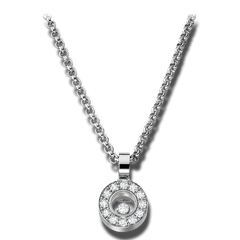 Chopard Diamond Round Pendant 793087-1001