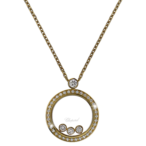 Chopard Happy Diamonds Round Pendant 793929-0301