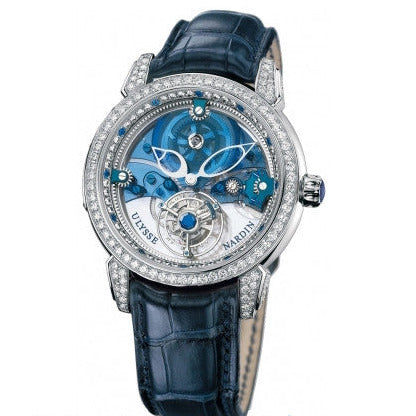 Ulysse Nardin Royal Blue Mystery Tourbillon 799-83