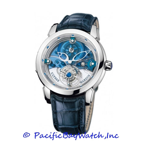 Ulysse Nardin Royal Blue Mystery Tourbillon 799-91