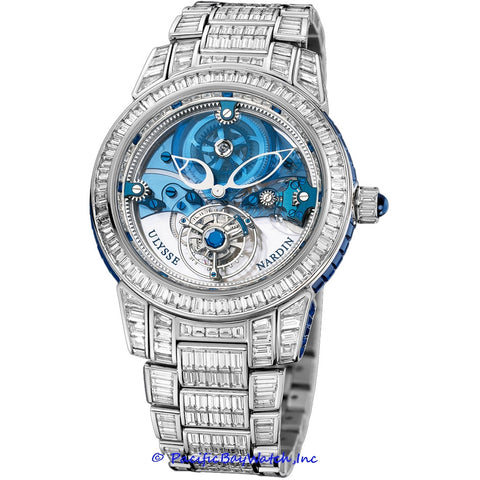 Ulysse Nardin Royal Blue Mystery Tourbillon 799-99BAG-8BAG