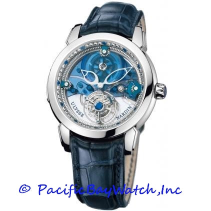 Ulysse Nardin Royal Blue Mystery Tourbillon 799-80