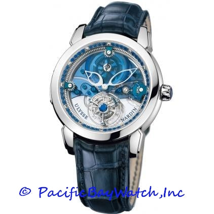 Ulysse Nardin Royal Blue Mystery Tourbillon 799-82