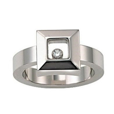 Chopard Happy Diamonds 18k White Gold Ring