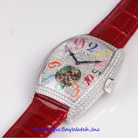 Franck Muller Crazy Hours Color Dream Tourbillon 8880 T CH D CD CODR WGW