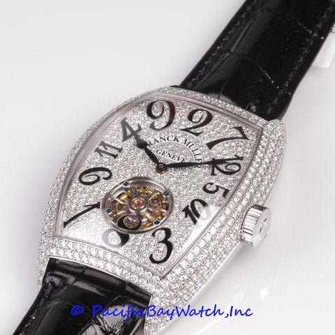 Franck Muller Diamond Tourbillon 8880 T CH D CD WGWB