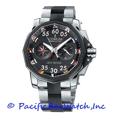 Corum Admiral's Cup Leap Second Chronograph Mens 895-931-06-V791-AA90