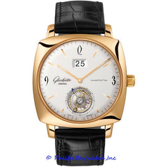 Glashutte Original 20th Century Vintage Sixties Square Tourbillon 94-12-01-01-04