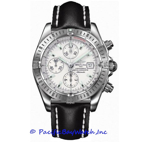 Breitling Evolution Chronomat A1335611/G569 on calf strap