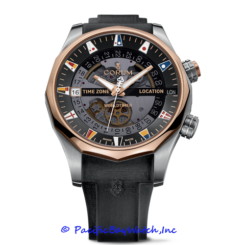 Curum Admirals Cup Legend 47 Worldtimer 637.101.05/F371 AN01