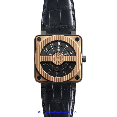 Bell & Ross BR01-92 Compass Rose Gold Carbon
