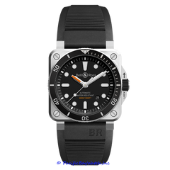 Bell & Ross BR 03-92 Dive BR0392-D-BL-ST Men's Watch