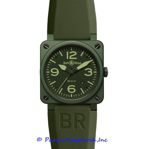 Bell & Ross Men's BR 03-92 Military Ceramic